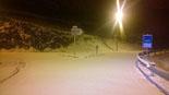Paisatge i meteorologia de gener al Ripollès A Molló s'han acumulat uns 3 cm de neu (30 de gener). Foto: Albert Donaire