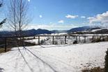 Paisatge i meteorologia de gener al Ripollès Restes de la nevada a Molló (31 de gener). Foto: Marcel Urgell
