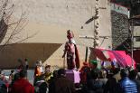 Inauguració del monument del rei Carnestoltes de Ribes de Freser