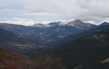 Paisatge i meteorologia de febrer al Ripollès El Taga amb molt poca neu des de la collada de Toses (8 de febrer). Foto: Arnau Urgell