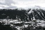 Paisatge i meteorologia de febrer al Ripollès Paisatge de neu des de la collada de Toses (8 de febrer). Foto: Arnau Urgell