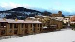 Paisatge i meteorologia de febrer al Ripollès Vallfogona, ben enfarinat (10 de febrer). Foto: Ajuntament de Vallfogona