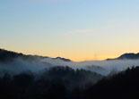 Paisatge i meteorologia de febrer al Ripollès Boires al Baix Ripollès (17 de febrer). Foto: Antonina Coromina
