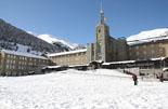 Paisatge i meteorologia de febrer al Ripollès A Núria s'han acumulat quasi 30 cm de neu nova (17 de febrer). Foto: Marcel Urgell