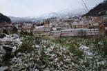 Nevada del 4 de març al Ripollès Enfarinada a Ripoll. Foto: Arnau Urgell