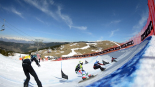 Prova final Copa del Món d'Snowboard als Alabaus Foto: FIS