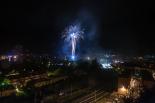 Sant Eudald: Tornaboda i focs de fi de festa