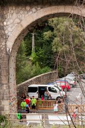 Inauguració del rocòdrom de Ribes de Freser
