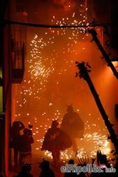 Festa Major de Sant Eudald: correfoc