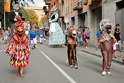 Festa Major de Sant Joan de les Abadesses: cercavila gegantera
