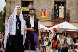 Festa Major de Campdevànol: dansa de la Gala