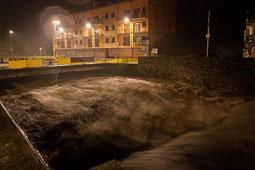 Llevantada 28-30 de novembre al Ripollès El Freser a Ribes (dissabte a la nit). Foto: Laia Deler