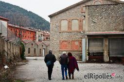 El resum del 2014 al Ripollès, en imatges L'antiga Preparación Téxtil, mesos abans de l'inici de les obres. Foto: Arnau Urgell