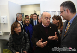 El resum del 2014 al Ripollès, en imatges Inauguració del nou CAP de Sant Joan de les Abadesses. Foto: Arnau Urgell