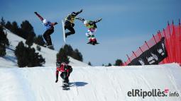 El resum del 2014 al Ripollès, en imatges Darrera prova de la Copa del Món d'Snowboard als Alabaus de la Molina. Foto: FIS