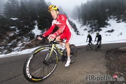 El resum del 2014 al Ripollès, en imatges Vallter 2000, final de l'etapa reina de la Volta Catalunya. Foto: Josep Maria Montaner
