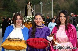 El resum del 2014 al Ripollès, en imatges La Processó dels Sants Misteris de Campdevànol. Foto: Arnau Urgell
