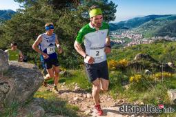 El resum del 2014 al Ripollès, en imatges Josep Viñas es va proclamar campió de Catalunya de curses de muntanya a Ripoll. Foto: Josep Maria Montaner