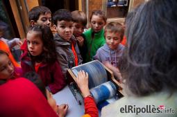 El resum del 2014 al Ripollès, en imatges La mainada, protagonista a la Fira de Santa Teresa de Ripoll. foto: Arnau Urgell