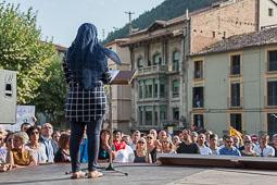Concentració a Ripoll: «Per la pau, un pas endavant»