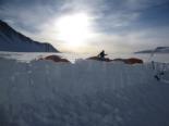 Els 7 cims d'Albert Bosch Camp base del massís Vinson