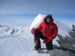Els 7 cims d'Albert Bosch Cim del massís Vinson