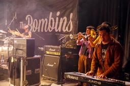 The Bombins i Ebri Knight al concert d'aniversari dels Geganters de Campdevànol