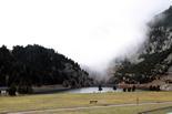 Vall de Núria: a punt per la temporada d'esquí L'estació de Vall de Núria utilitza l'aigua del llac per fabricar la neu