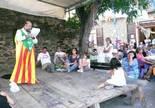 Festa Major de Pardines Pregó a càrrec de Josep Manuel Mercader. Foto: Joan Vila i Triadú