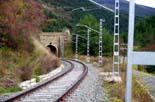 Finalitzen les obres de millora de la línia del tren a Toses