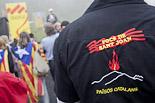 Arribada de la Flama del Canigó a coll d'Ares, 2013