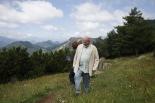Visita de Josep Huguet a Montgrony i al Molló Park