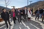 Inauguració de les les millores de l'estació de Queralbs