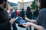 #acampadaripoll Cassolada nit 21 de maig