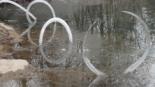 Art efímer amb neu i gel