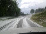 Pedregada a les Llosses de l'1 de juliol Foto: Sergi Verdaguer