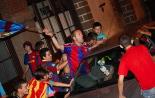 Celebració de la Champions a Ripoll