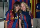 Pantalles gegants de Champions a Ribes i Sant Joan Foto: Anna Julve