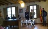 Constitució dels ajuntaments del Ripollès Relleu a Campelles. De Manel Palau a Joan Dordas. Foto: Pere Dordas