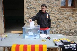 Consultes sobre la independència del 25 d'abril Un votant a Setcases