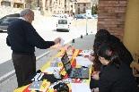 Consultes sobre la independència del 25 d'abril Un votant a Llanars