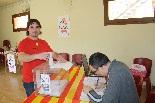 Consultes sobre la independència del 25 d'abril Un votant a Sant Pau de Segúries