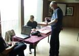 Consultes sobre la independència del 25 d'abril Un votant a Queralbs
