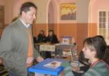 Consultes del 28F L'alcalde de Sant Joan, Ramon Roqué, ha votat a mig matí