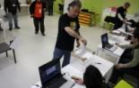 Consultes del 28F Ramon Espelt ha estat el primer votant de Campdevànol