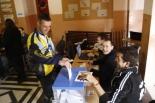 Consultes del 28F Un participant a la duatló de Sant Joan que combina esport i dret a decidir