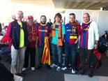 Culers del Ripollès a Wembley Foto: Arnau Birba