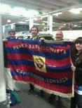 Culers del Ripollès a Wembley Foto: Xavier Rigat