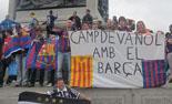 Culers del Ripollès a Wembley Foto: Mireia Portabella