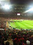 Culers del Ripollès a Wembley Foto: Xevi Ardite